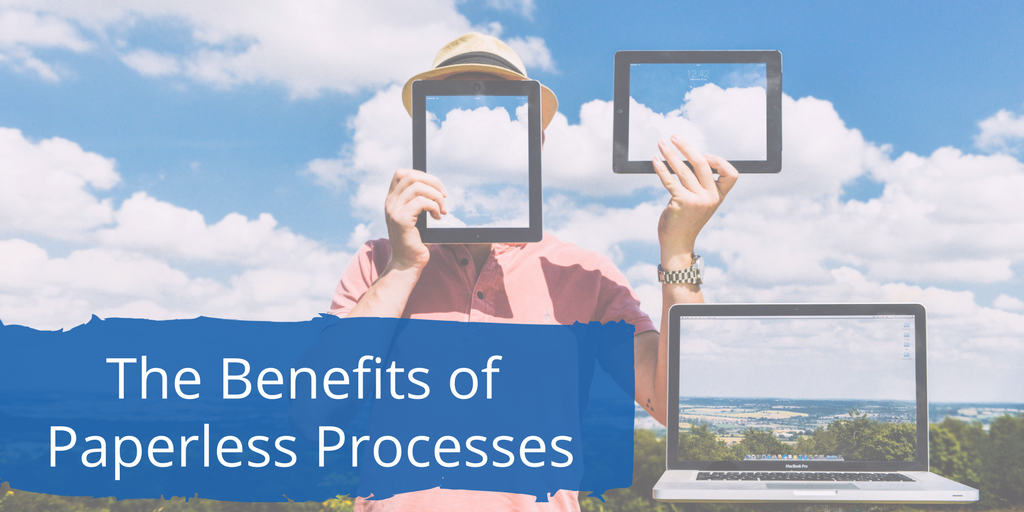7 Benefits of an (Almost) Paperless Credentialing System